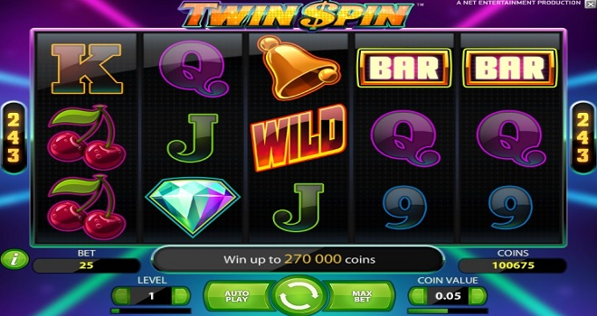 Twin Spin Award Winning Slot