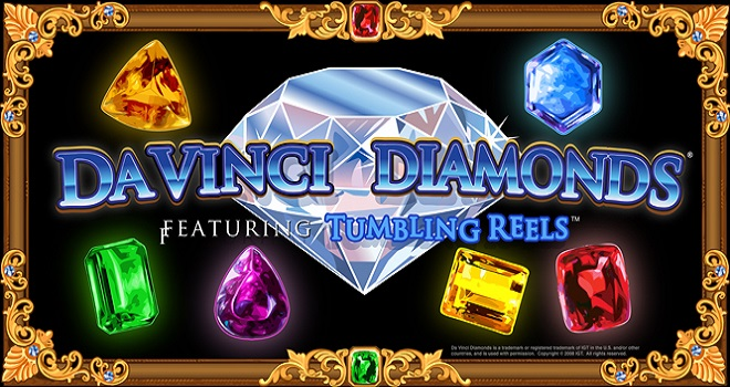 Da Vinci Diamonds Tumbling Reels Slot