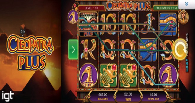 Free Play Cleopatra Plus