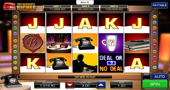 Deal or No Deal The Bankers Riches by Endemol