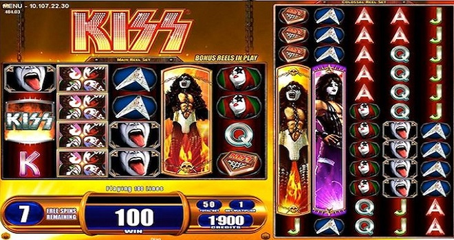 Kiss Online Slot Machine
