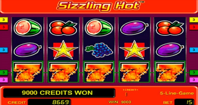 Free Play Sizzling Hot Slot Online Here