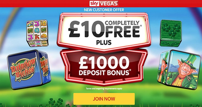 Sky Vegas Offers Available Online Here
