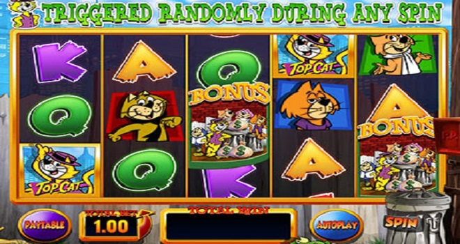 Top Cat Slot Machine Play For Real Money