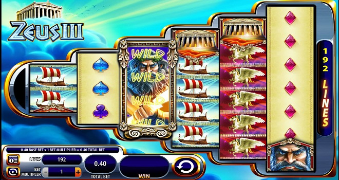 Zeus 3 Addictive Online Slot Game