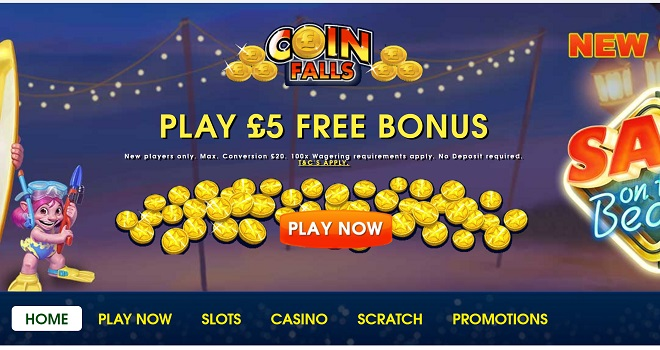 Coin Falls Casino Review