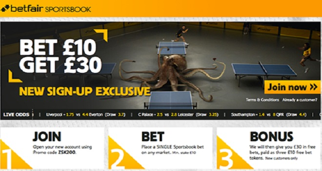 Betfair Sports Book