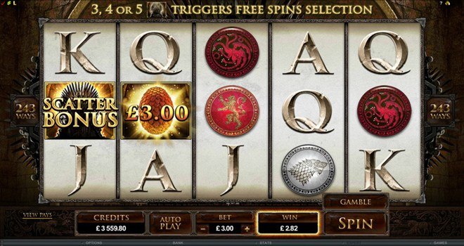 Game Of Thrones Slot Machine - Play For Free