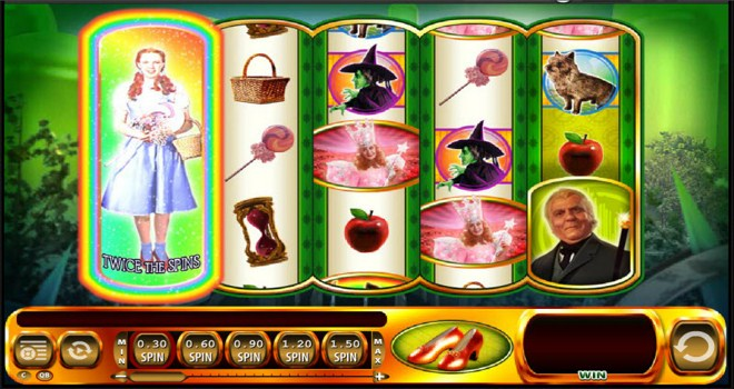 Ruby Slippers Slot Machine Online