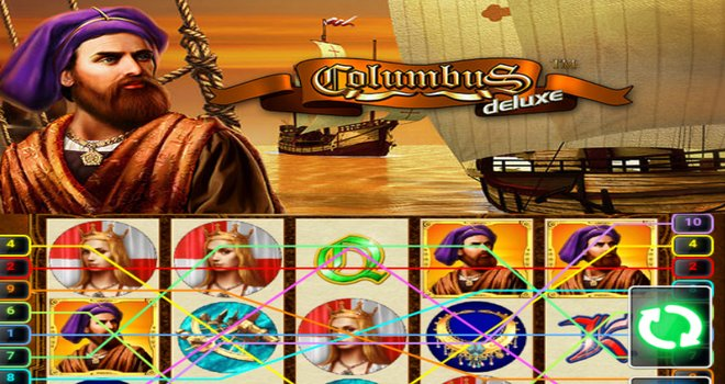 Columbus Deluxe Slot Machine Online