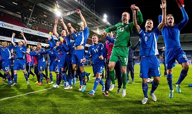 Iceland amoung qualifiers for World Cup Finals
