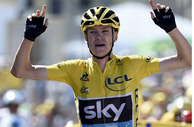 Chris Froome out to prove his innocence for failing drug test