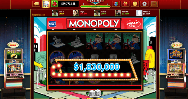 1 million monopoly slot game