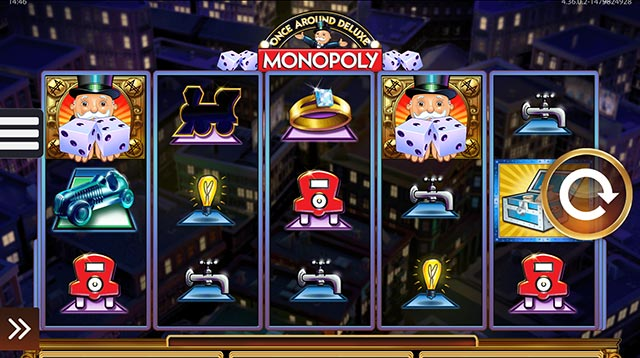 Monopoly - Once Around Deluxe slots