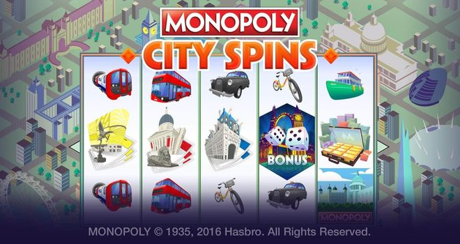 Monopoly City Spins slots